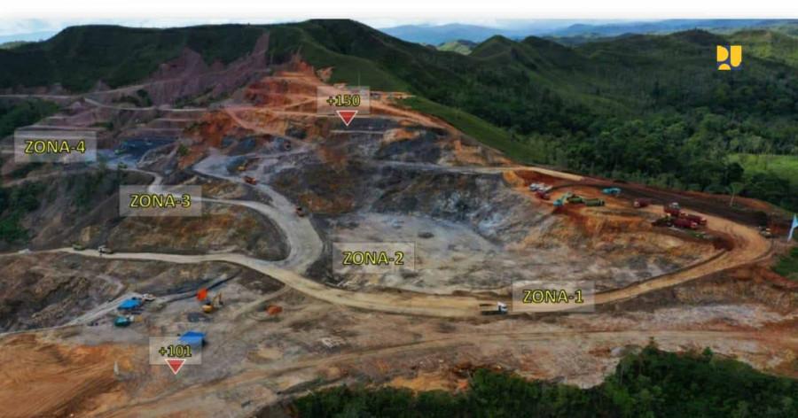 Kementerian PUPR Targetkan Bendungan Way Apu di Kabupaten Buru Provinsi Maluku Selesai Agustus 2023