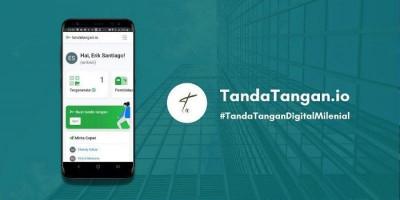 Tandatangan.io, Aplikasi Tanda Tangan Digital untuk Mempermudah Pembelajaran Jarak Jauh