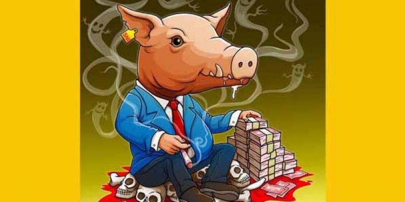 Khutbah Babi Untuk Para Koruptor