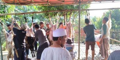 Kurban di Desa Cipelang, Kaki Gunung Salak