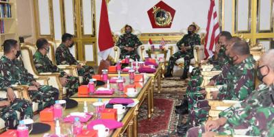 Dankormar Terima Kunjungan Komandan PMPP TNI