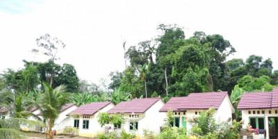 Kementerian PUPR Bangun 80 Rumah Khusus Bagi Masyarakat Suku Anak Dalam di Jambi