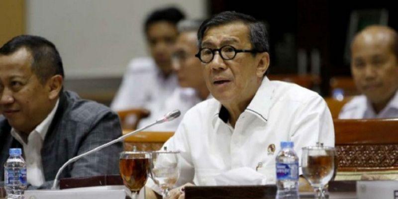 Soal TKA Dilarang Masuk Indonesia, Menteri Yasonna Sebut Berlaku 2 Hari Sejak Aturan Diterbitkan