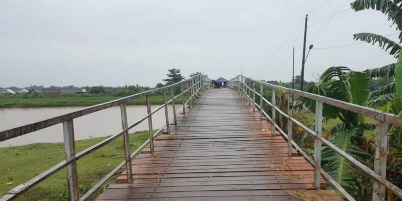 Kementerian PUPR Bangun Tiga Jembatan Gantung di Jawa Tengah