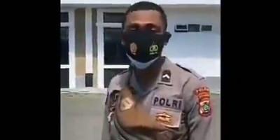 Heboh Oknum Polisi Rendahkan Tukang Sapu, Langsung Dapat Ganjaran dari Atasan