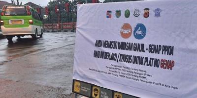 Ganjil Genap di Kota Bogor Juga Diperpanjang, Kini Menjadi 24 Jam Setiap Hari