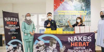 Zipmex Indonesia Bagikan 3.000 Makanan Siap Santap di RSD Covid - 19