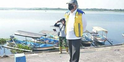 Menteri Basuki Instruksikan Revitalisasi Kawasan Bendungan Cengklik di Boyolali
