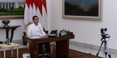 Jokowi: Masih Semi Lockdown Saja Warga Menjerit