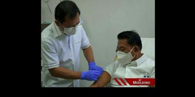 Disuntik Vaksin Nusantara, Moeldoko: Dukungan Pribadi kepada Kerja Keras Anak Bangsa