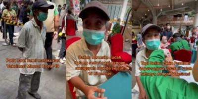 Kayuh Sepeda 15 Kilometer Demi Divaksin, Kakek Saparuddin Dapat Hadiah Sepeda Motor