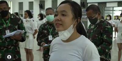 Viral Alasan Wanita Ini Ingin Jadi Tentara: Ingin Buat Mantan Menyesal