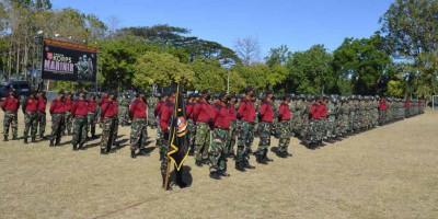 Taruna Marinir ikuti Pendidikan Komando 166