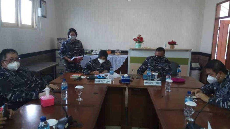 Memorandum Sertijab Danrumkital Marinir Cilandak