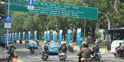 Jangan Lupa, Ganjil Genap Berlaku di 8 Ruas Jalan di Jakarta Hari Ini