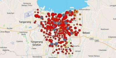 DKI Jakarta Keluar dari Zona Merah Covid-19