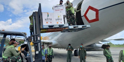 Panglima TNI Perintahkan TNI AU Dukung Distribusi Vaksin di Papua