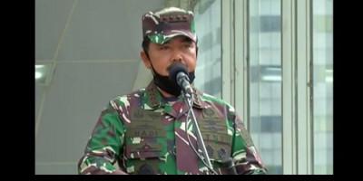 Panglima TNI Mutasi dan Promosi Jabatan 21 Perwira Tinggi