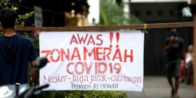 Zona Merah di Jakarta Tersisa 4 RT, Lainnya Oranye dan Kuning