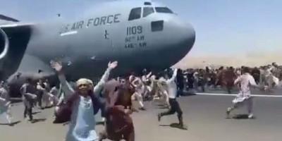 Bergelantungan di Pesawat Amerika, 5 Warga Afghanistan Jatuh dari Ketinggian