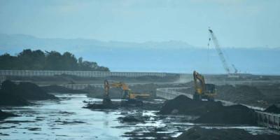 Kementerian PUPR Percepat Pembangunan Prasarana Pengendali Banjir Tukad Unda di Bali