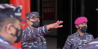 Laksamana TNI Yudo Margono Bertandang Disarang Petarung Marinir