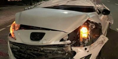 Video Viral, Diduga Mobil Polisi Lawan Arah dan Tabrak 2 Mobil Mewah di Jaksel