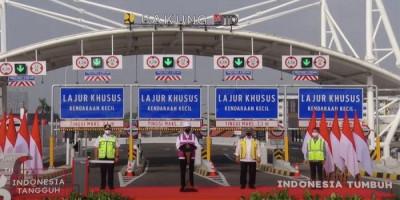 Resmikan Jalan Tol Pulo Genang-Kelapa Gading, Jokowi Berharap Skemanya Digunakan untuk Infrastruktur di Indonesia
