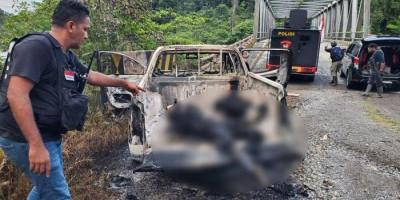 Bikin Merinding, Ini Kronologi Pembantaian KKB Terhadap 2 Pegawai PT Indo Papua