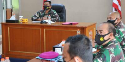 Danlanmar Jakarta Terima Paparan Serbuan Vaksinasi Covid-19 Masyarakat Pesisir Cilincing