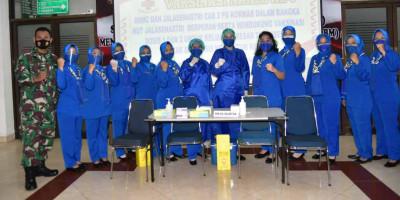 Jelang Hut Ke-75 Jalasenastri, RSMC Dan Jalasenastri Cabang 3 Pg Kormar Laksanakan Vaksinasi