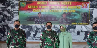 Danrem Merauke Pimpin Acara Tradisi Korps dan Sertijab Kasi Intel Kasrem 174/ATW