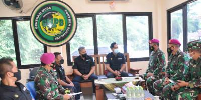 Danlanmar Jakarta Beserta Rombongan Berkunjung Ke Pontren Suryalaya Tasikmalaya dan Garut
