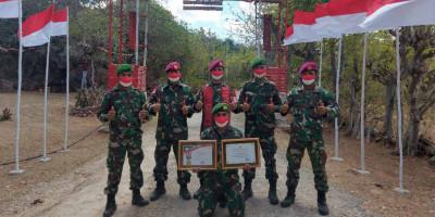 Marinir Pelopori Kampung Oeseli Jadi Kampung Merah Putih Di Ujung Selatan Indonesia