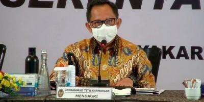 Mendagri Tito Tegur 10 Kepala Daerah Soal Insentif Nakes