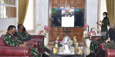 Marinir TNI AL Terima Audiensi Dari Ctarsa Foundation