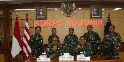 Audit Kinerja Itjen TNI Periode III Ta. 2021 di Marinir Resmi Ditutup