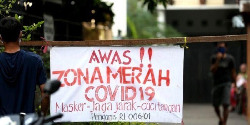 Zona Merah Covid-19 di DKI Jakarta Sisakan Satu RT