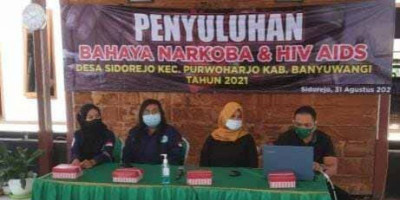 Visi Besar Lembaga Anti Narkotika Banyuwangi Dicoreng Oknum Camat Tegaldlimo