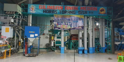 Pertama di Merauke, Serka Ardian Manulang Kembangkan Rice Milling Unit untuk Membantu Petani