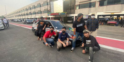 Reza Rizki Arjai Debut di Sentul Drag Fest Seri 3