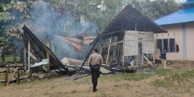 Masjid di Kalbar Dirusak dan Dibakar, 10 Terduga Pelaku Dibekuk Polisi