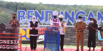 Bendungan Bendo, Bendungan Ketujuh Yang Diresmikan Presiden Jokowi Tahun 2021