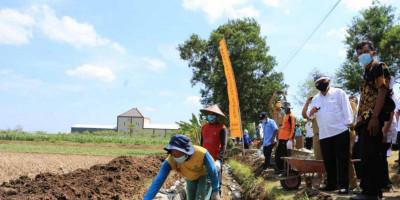 Kementerian PUPR Rehabilitasi Bendung dan Jaringan Irigasi di Daerah Irigasi Bendo dan Madiun