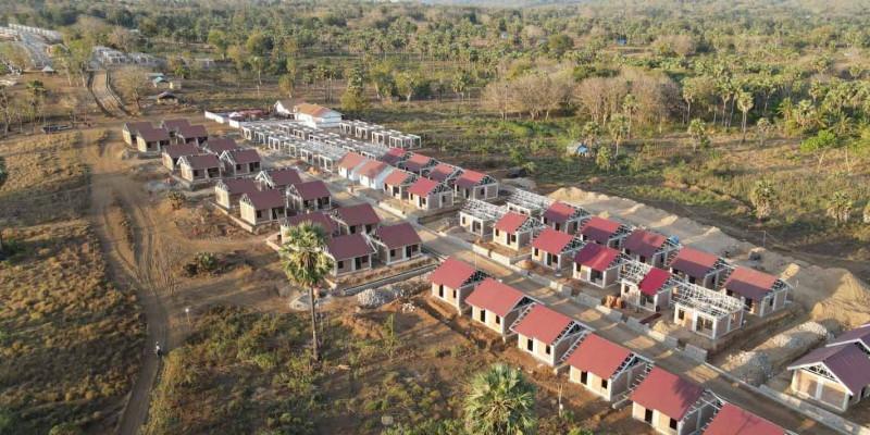 Kementerian PUPR Percepat Pembangunan Rumah Khusus Bagi Masyarakat Terdampak Bencana Badai Siklon Tropis Seroja di NTT