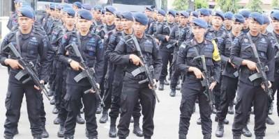 Bantu Pengamanan PON, Polri Kirim 16 SSK Brimob ke Papua