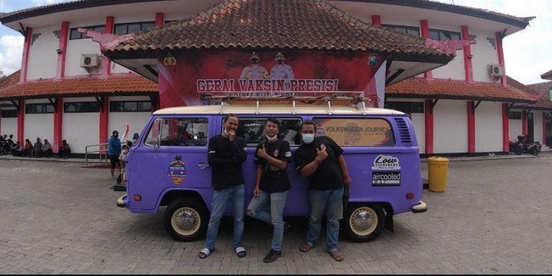 Tur Keliling Nusantara Volkswagen Journey: Bentuk Ekspresi Persaudaraan dan Kemanusiaan