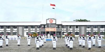 Komandan Pasmar 3 Pimpin Upacara Peringatan HUT ke-76 TNI AL