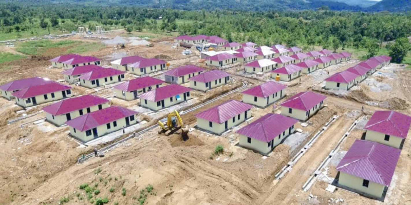 Kementerian PUPR Bangun Hunian Layak Bagi Warga Baru di Perbatasan RI – Timor Leste
