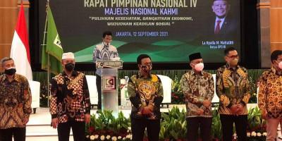 Senator Fachrul Razi Dilantik Ketua Pengurus MN KAHMI